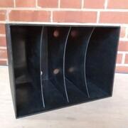 Vinyl Storage - 7'-Box 70er Jahre in schwarz - für ca 120 7'-Singles