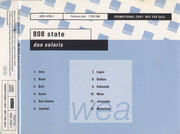 CD - 808 State - Don Solaris