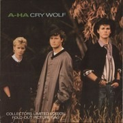 7inch Vinyl Single - a-ha - Cry Wolf - Fold-Out Picture Bag