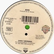 7'' - a-ha - Early Morning
