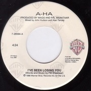 7'' - a-ha - I've Been Losing You
