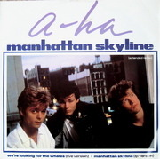 12'' - a-ha - Manhattan Skyline