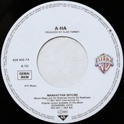 7'' - a-ha - Manhattan Skyline