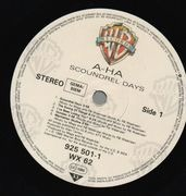 LP - A-Ha - Scoundrel Days - embossed cover