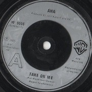 7'' - a-ha - Take On Me - Silver Injection Labels