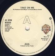 7'' - a-ha - Take On Me - Cream Paper Labels