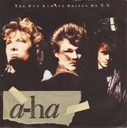 7'' - a-ha - The Sun Always Shines On T.V. - Paper Labels