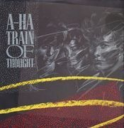 12inch Vinyl Single - a-ha - Train Of Thought - POSTER