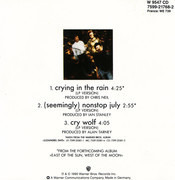 CD Single - a-ha - Crying In The Rain