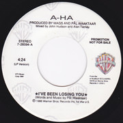 7inch Vinyl Single - a-ha - I've Been Losing You
