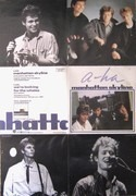 7'' - a-ha - Manhattan Skyline - Poster Sleeve, Paper Labels