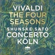 LP - A. Vivaldi - Four Seasons - CONCERTO KOLN/SHUNSKE SATO