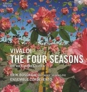 LP - A. Vivaldi - Four Seasons - ERIK BOSGRAAF/ENSEMBLE CORDEVENTO
