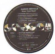 LP - Aaron Neville - Warm Your Heart
