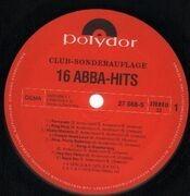 LP - Abba - 16 ABBA Hits