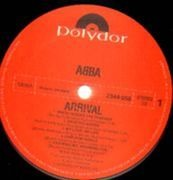 LP - Abba - Arrival - lyricsphoto insert