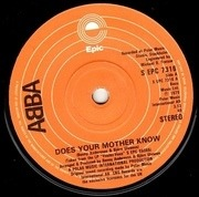 7'' - Abba - Does Your Mother Know
