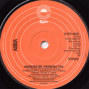 7'' - Abba - Knowing Me, Knowing You