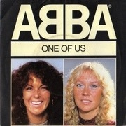 7'' - Abba - One Of Us - Paper labels