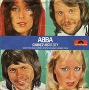 7'' - Abba - Summer Night City / Medley: Pick A Bale Of Cotton, On Top OF Old Smokey, Midnight Special