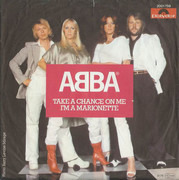 7inch Vinyl Single - Abba - Take A Chance On Me / I'm A Marionette