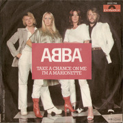 7'' - Abba - Take A Chance On Me