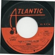 7'' - Abba - Take A Chance On Me / I'm A Marionette