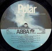 LP - Abba - The Album - swedish original