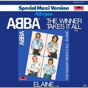 12'' - Abba - The Winner Takes It All / Elaine