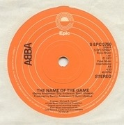 7'' - Abba - The Name Of The Game