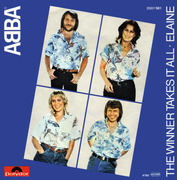 7'' - Abba - The Winner Takes It All / Elaine