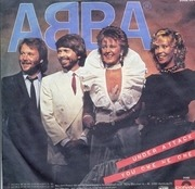 7'' - Abba - Under Attack / You Owe Me One