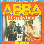 7'' - Abba - Waterloo / Watch Out