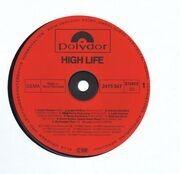 LP - ABBA, Frank Duval - High Life