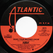 7inch Vinyl Single - Abba - Does Your Mother Know / Kisses Of Fire