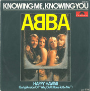 7inch Vinyl Single - Abba - Knowing Me, Knowing You
