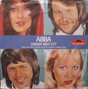 7inch Vinyl Single - Abba - Summer Night City