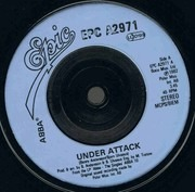 7'' - Abba - Under Attack / You Owe Me One - Injection Labels