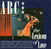 LP - Abc - The Lexicon Of Love - red labels