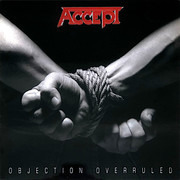 LP - Accept - Objection Overruled - Ltd Edition Silver & Black Vinyl on 180g