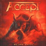 Double LP - Accept - Blind Rage - still sealed, gatefold, ltd. 140g splatter vinyl
