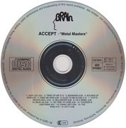 CD - Accept - Metal Masters