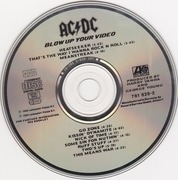 CD - AC/DC - Blow Up Your Video