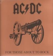 LP - AC/DC - For Those About To Rock We Salute You - WE SALUTE YOU -LTD- // LTD VINYL REISSUE / 180G.