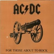 LP - AC/DC - For Those About To Rock (We Salute You) - Gatefold Cover