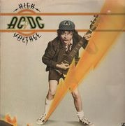 LP - AC/DC - High Voltage - NO BARCODE