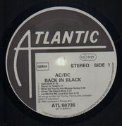 LP - AC/DC - Back In Black - OG German / embossed / matrix variation