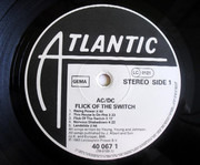 LP - AC/DC - Flick Of The Switch