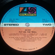 LP - AC/DC - Fly On The Wall