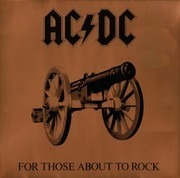 LP - AC/DC - For Those About To Rock (We Salute You) - Gatefold